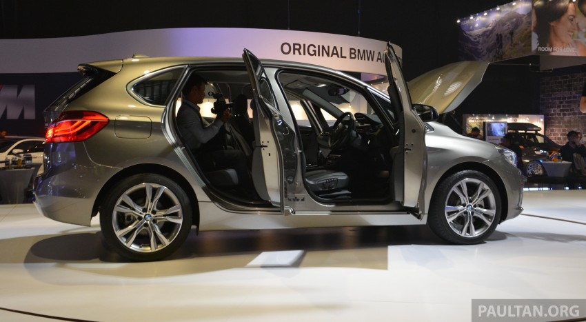 F45 BMW 218i Active Tourer introduced – from RM219k Image #328627