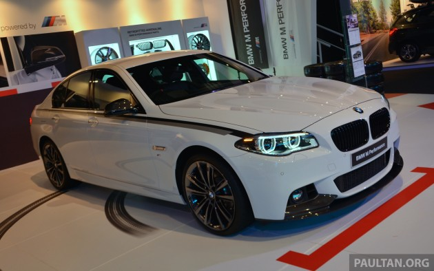 Bmw M Performance Parts Showcased