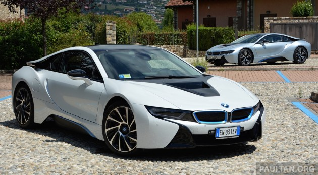 Driven Bmw I8 Plug In Hybrid Sports Car In Milan