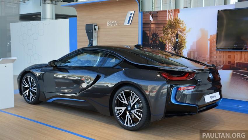 DRIVEN: BMW i8 plug-in hybrid sports car in Milan Image #329873