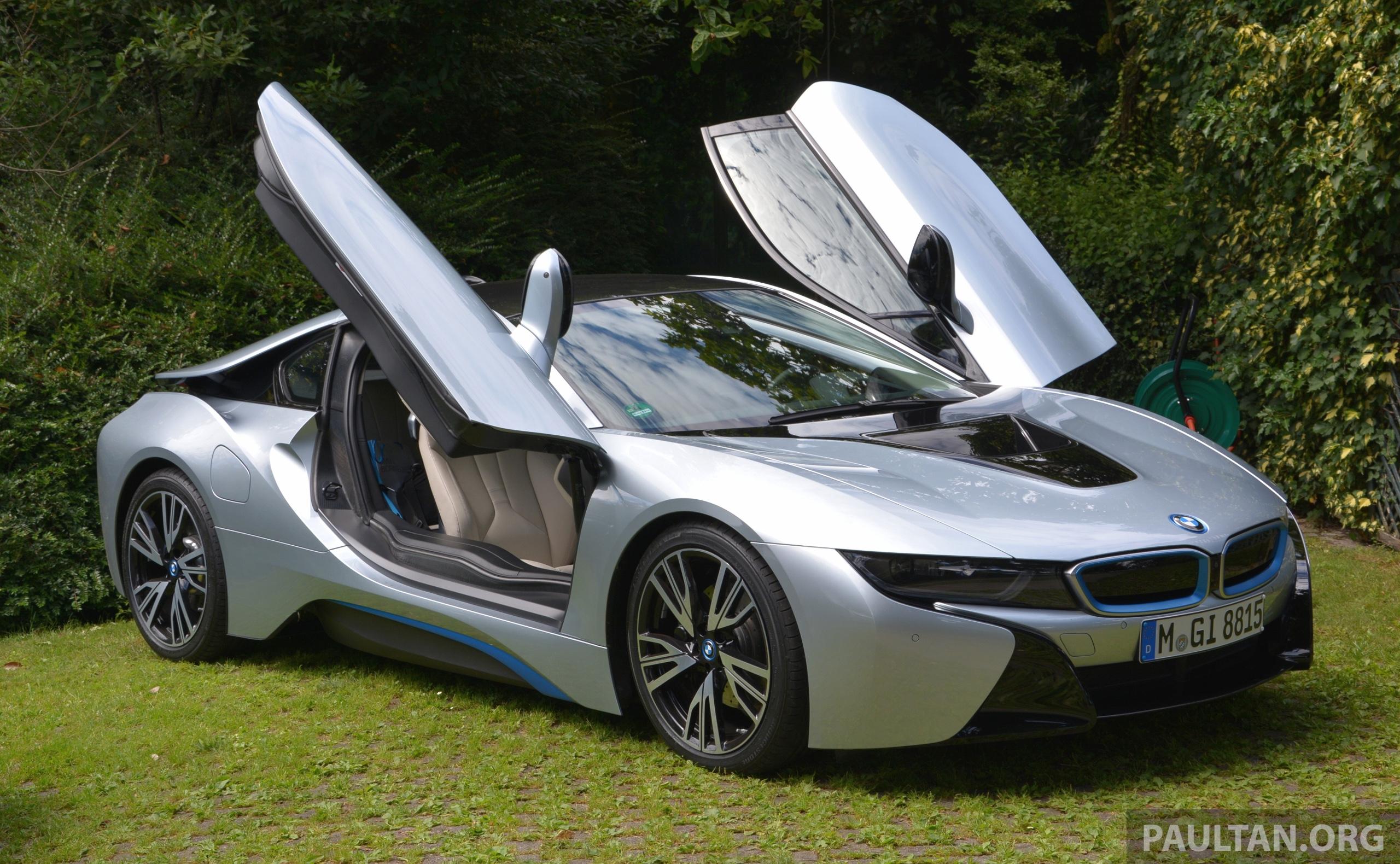 Driven Bmw I8 Plug In Hybrid Sports Car In Milan Image 329789