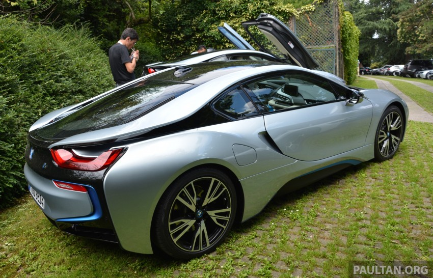 DRIVEN: BMW i8 plug-in hybrid sports car in Milan Image #329792