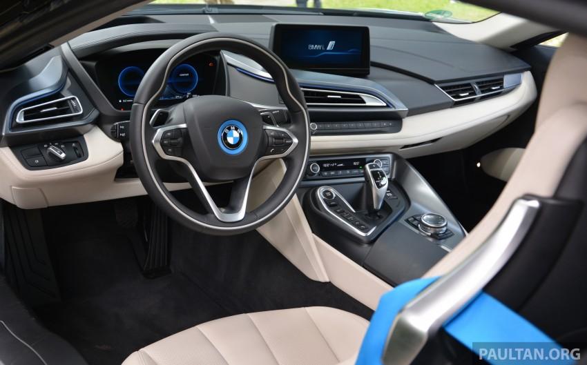 DRIVEN: BMW i8 plug-in hybrid sports car in Milan Image #329793
