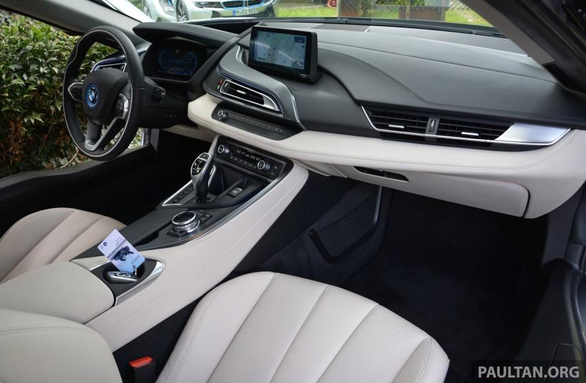 DRIVEN: BMW i8 plug-in hybrid sports car in Milan Image #329794