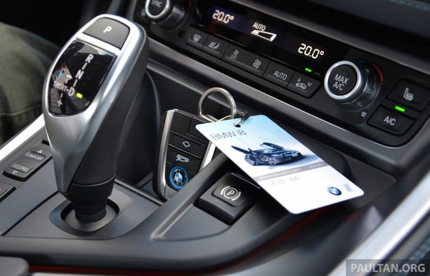 DRIVEN: BMW i8 plug-in hybrid sports car in Milan Image #329800