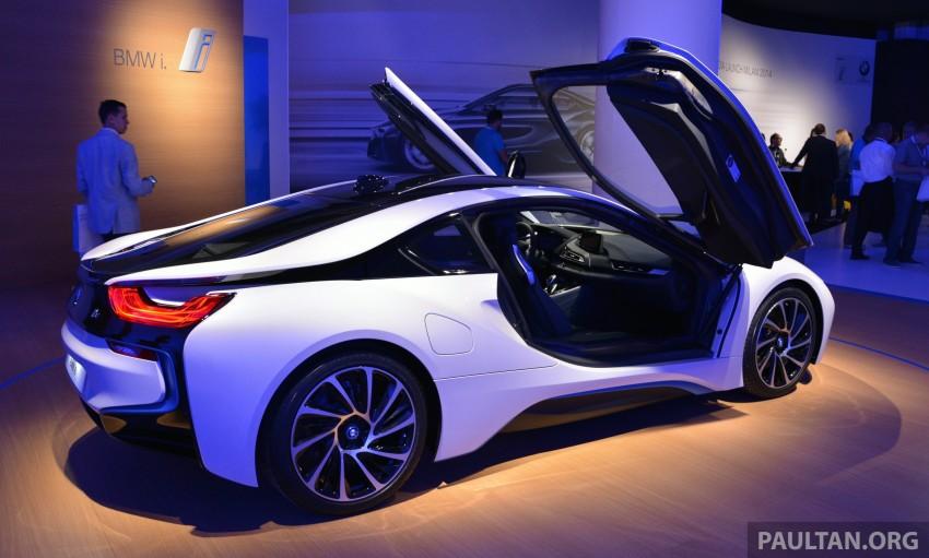 DRIVEN: BMW i8 plug-in hybrid sports car in Milan Image #329803