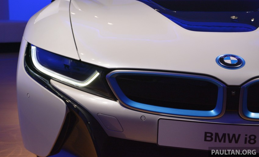 DRIVEN: BMW i8 plug-in hybrid sports car in Milan Image #329804