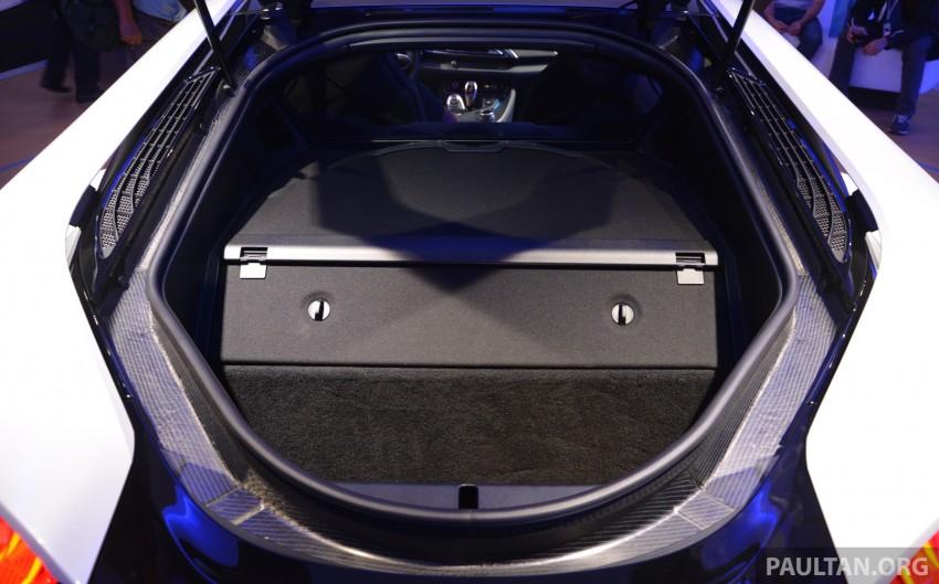 DRIVEN: BMW i8 plug-in hybrid sports car in Milan Image #329806