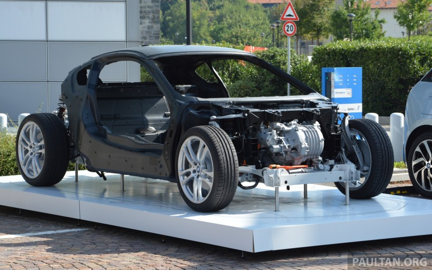 DRIVEN: BMW i8 plug-in hybrid sports car in Milan Image #329807
