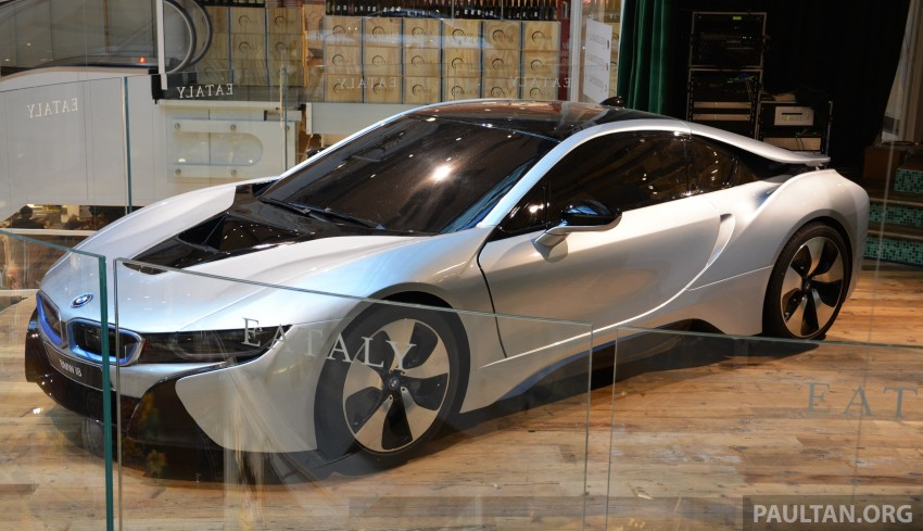 DRIVEN: BMW i8 plug-in hybrid sports car in Milan Image #329814