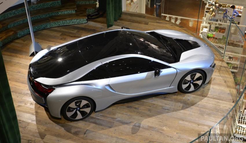 DRIVEN: BMW i8 plug-in hybrid sports car in Milan Image #329816