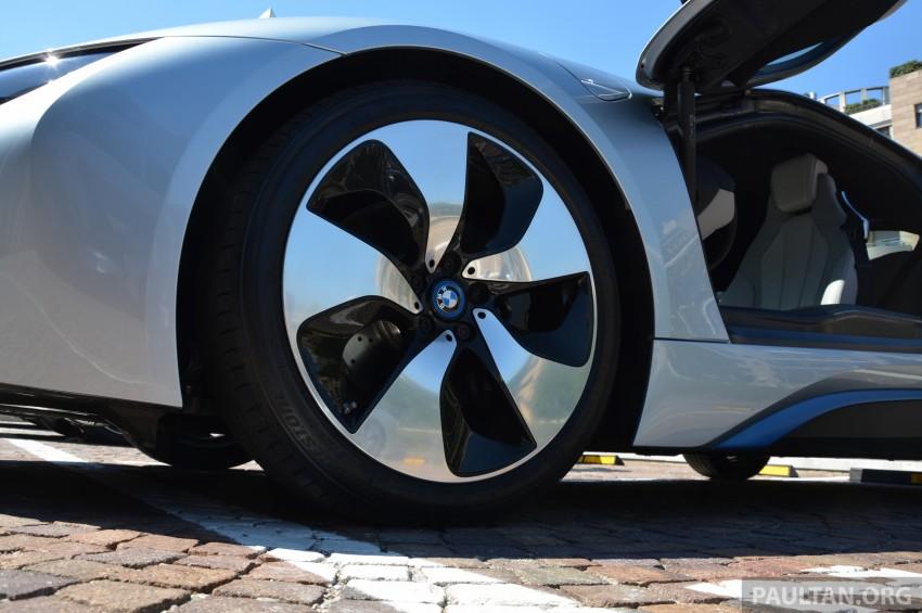 DRIVEN: BMW i8 plug-in hybrid sports car in Milan Image #329819