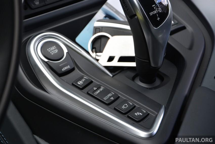 DRIVEN: BMW i8 plug-in hybrid sports car in Milan Image #329824