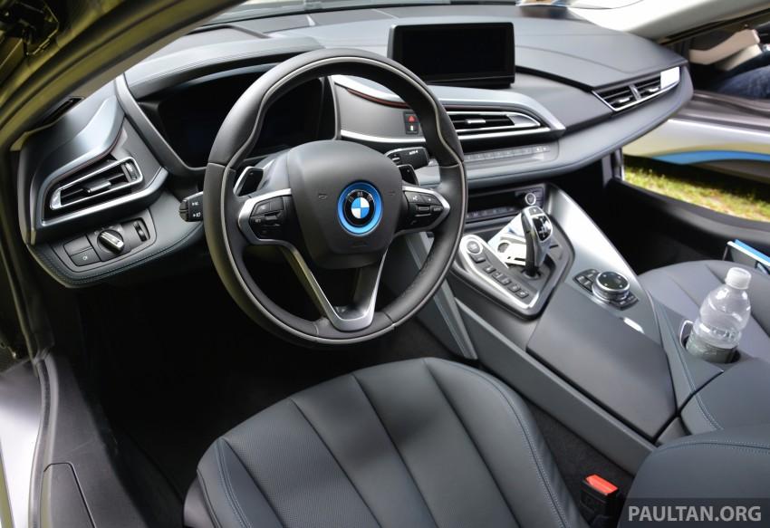 DRIVEN: BMW i8 plug-in hybrid sports car in Milan Image #329826