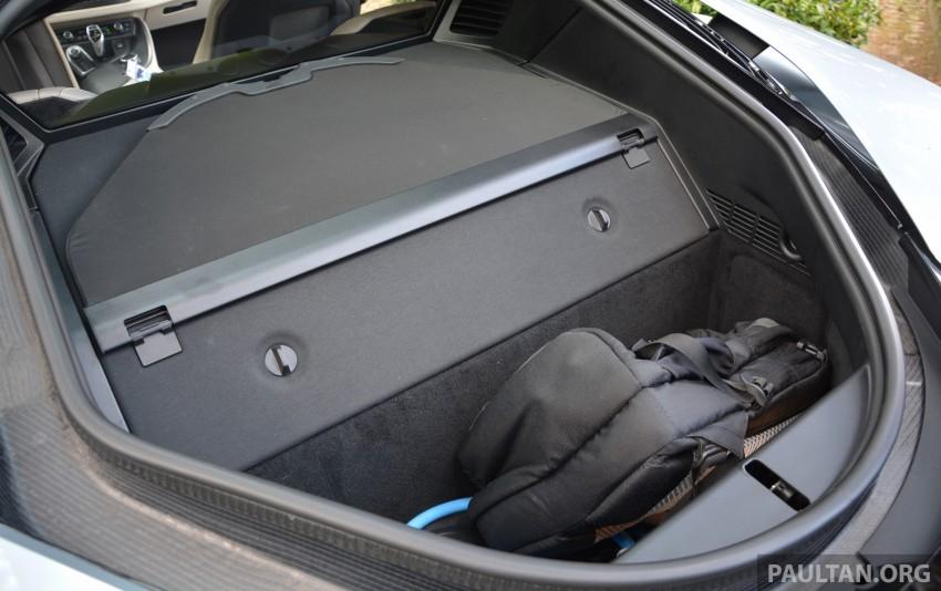 DRIVEN: BMW i8 plug-in hybrid sports car in Milan Image #329832