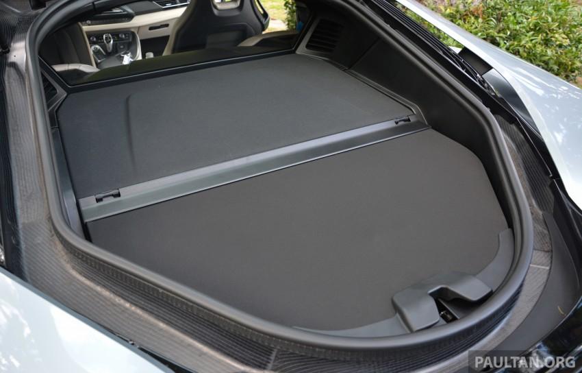 DRIVEN: BMW i8 plug-in hybrid sports car in Milan Image #329833
