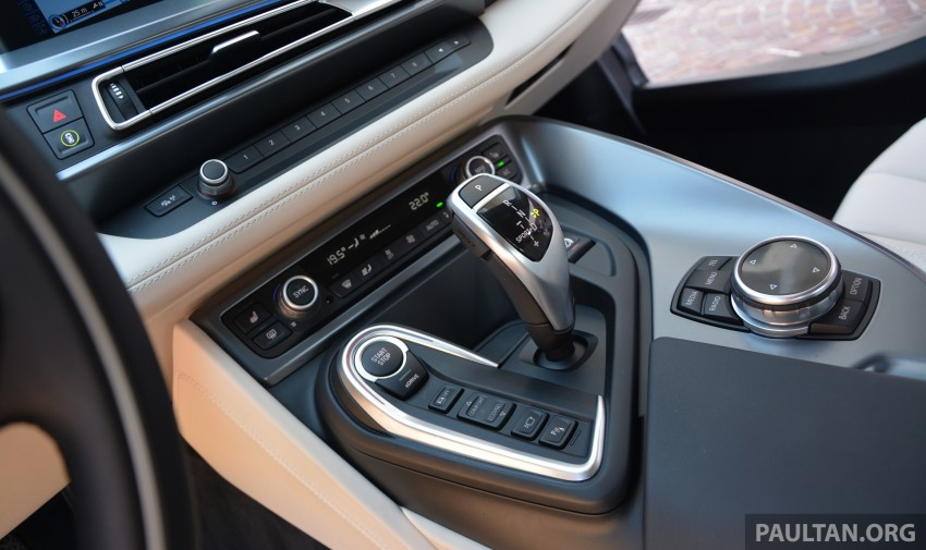 DRIVEN: BMW i8 plug-in hybrid sports car in Milan Image #329836