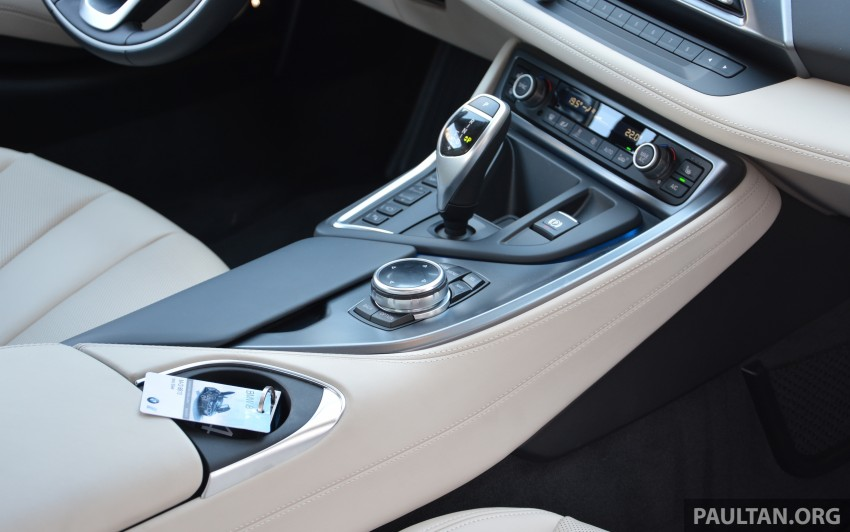 DRIVEN: BMW i8 plug-in hybrid sports car in Milan Image #329841