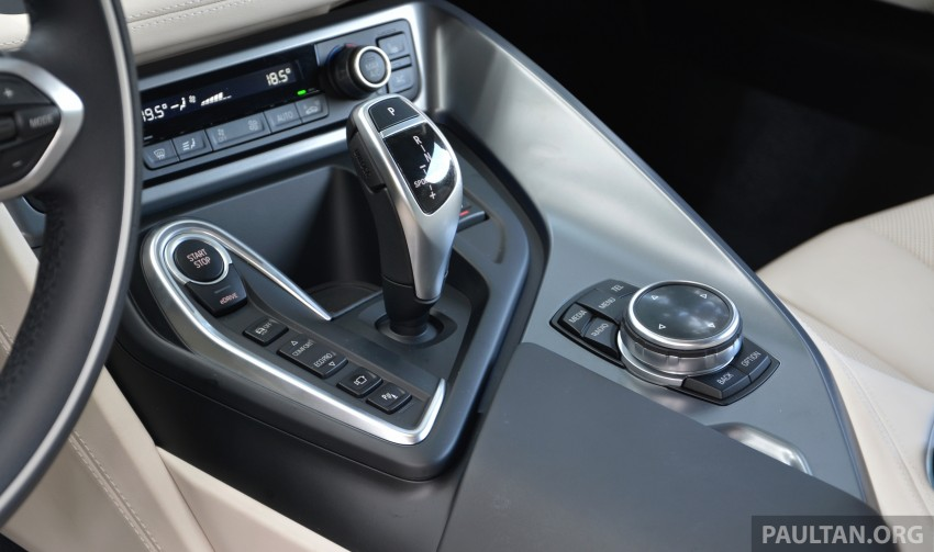 DRIVEN: BMW i8 plug-in hybrid sports car in Milan Image #329843