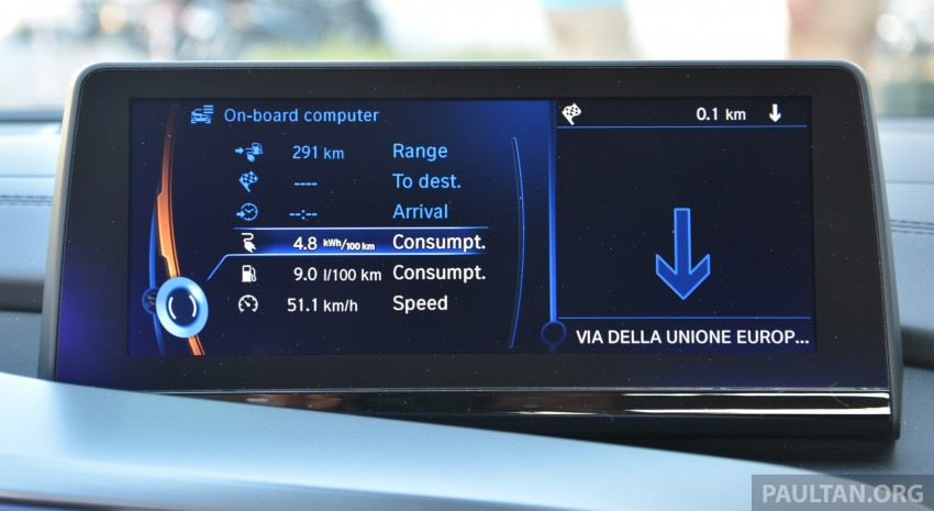 DRIVEN: BMW i8 plug-in hybrid sports car in Milan Image #329847