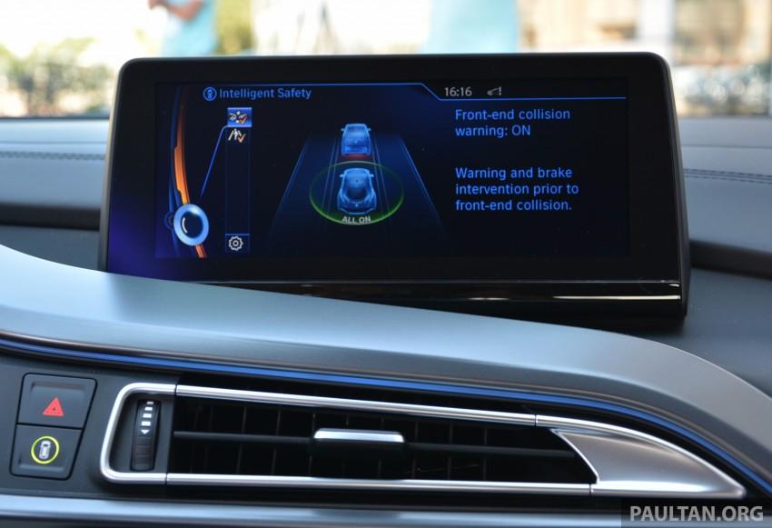 DRIVEN: BMW i8 plug-in hybrid sports car in Milan Image #329849
