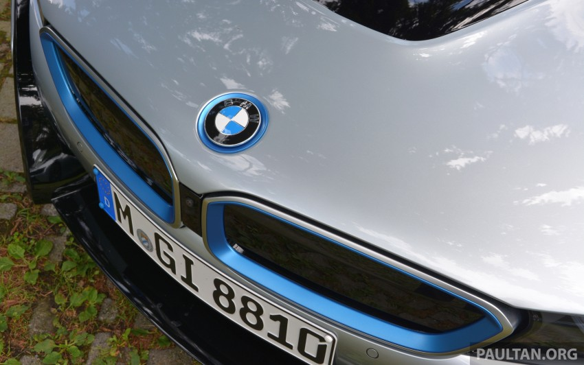 DRIVEN: BMW i8 plug-in hybrid sports car in Milan Image #329850