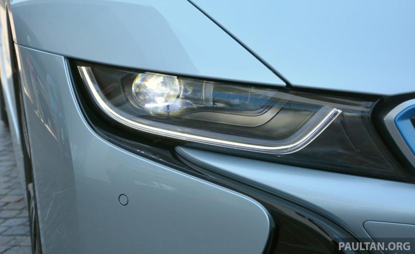 DRIVEN: BMW i8 plug-in hybrid sports car in Milan Image #329851