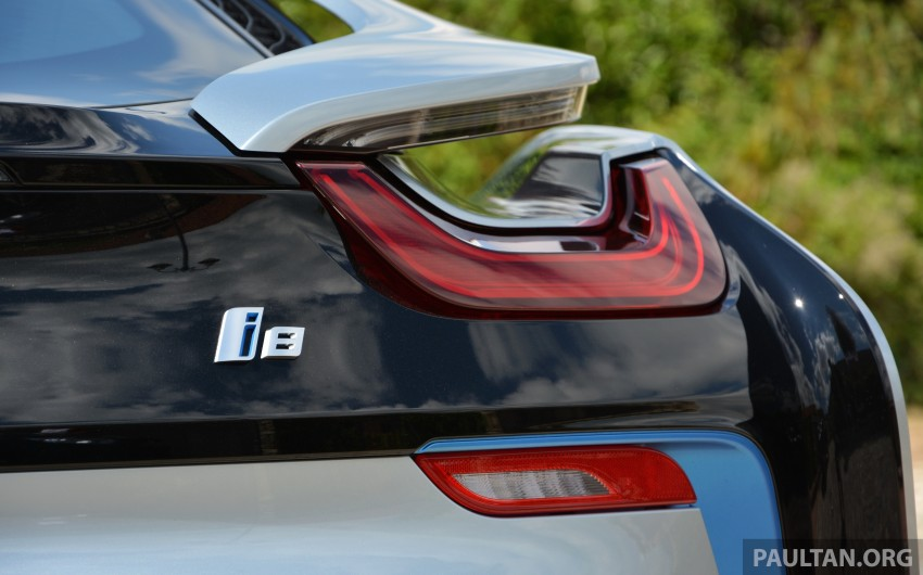 DRIVEN: BMW i8 plug-in hybrid sports car in Milan Image #329852