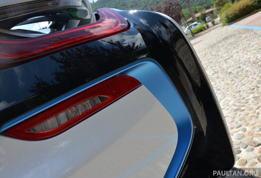 DRIVEN: BMW i8 plug-in hybrid sports car in Milan Image #329854
