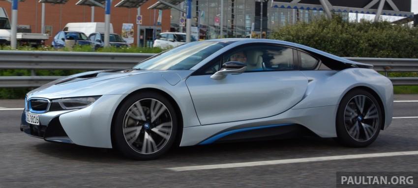 DRIVEN: BMW i8 plug-in hybrid sports car in Milan Image #329782