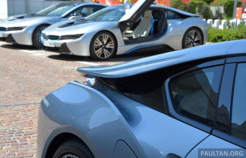 DRIVEN: BMW i8 plug-in hybrid sports car in Milan Image #329864