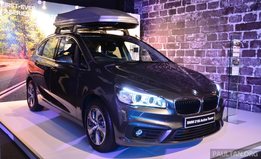 F45 BMW 218i Active Tourer introduced – from RM219k Image #328898