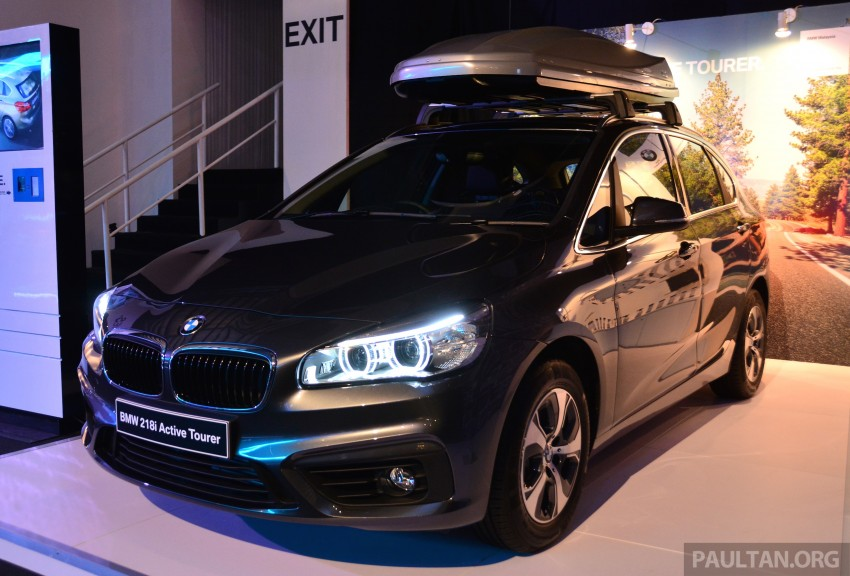F45 BMW 218i Active Tourer introduced – from RM219k Image #328901