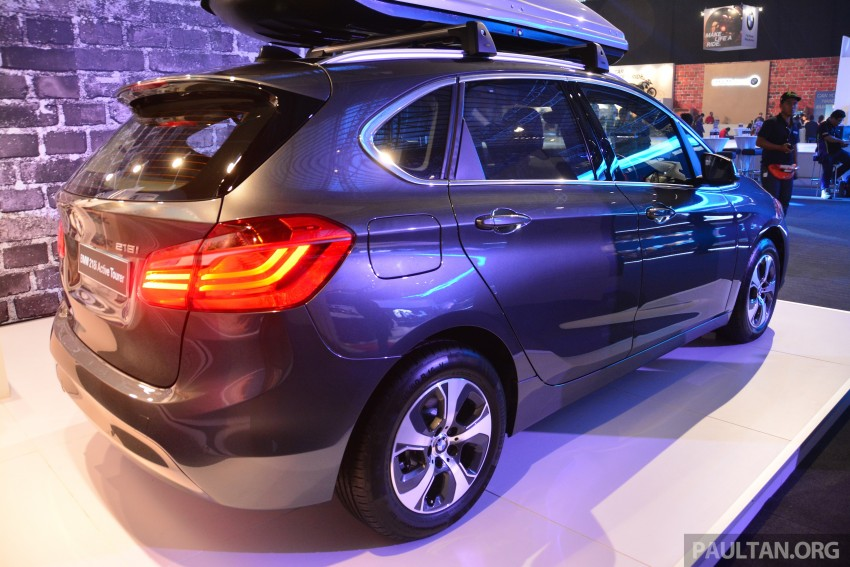 F45 BMW 218i Active Tourer introduced – from RM219k Image #328902