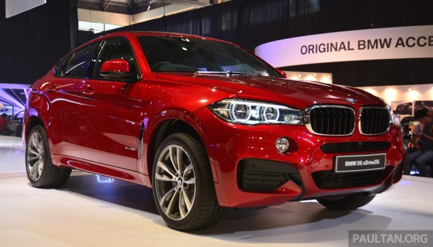 F16 Bmw X6 Debuts At Bmw World Xdrive35i Rm719k