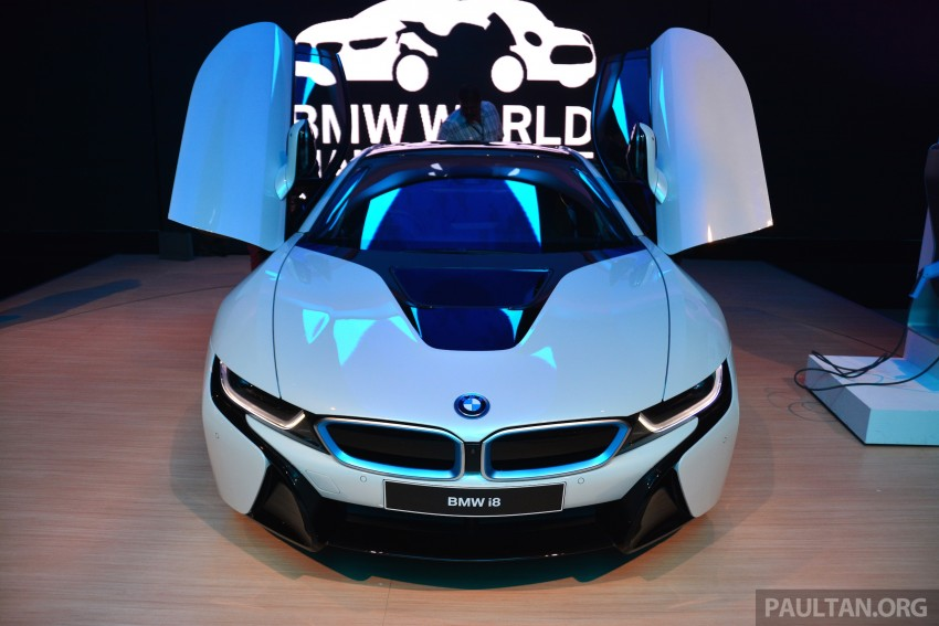BMW i8 launched in Malaysia – priced at RM1,188,800 Image #328725