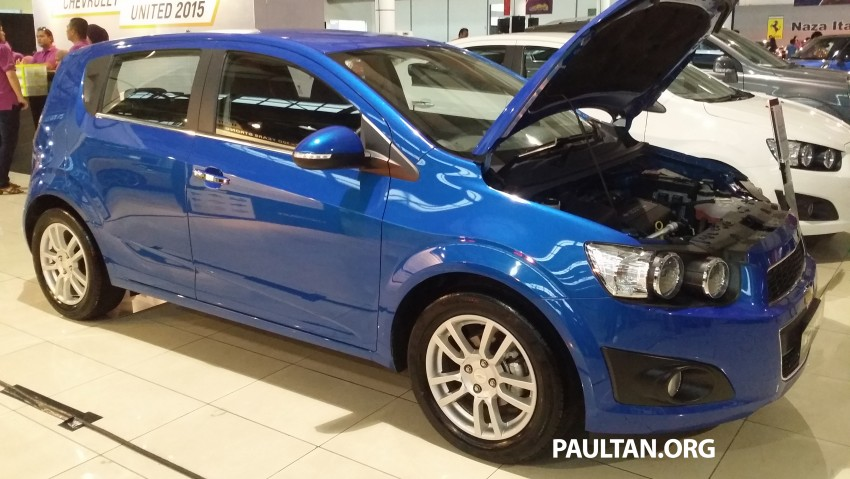 Chevrolet Sonic 1.6 hatchback and sedan introduced Image #332725