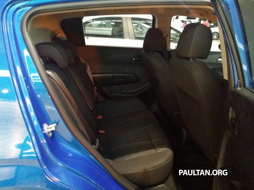 Chevrolet Sonic 1.6 hatchback and sedan introduced Image #332730