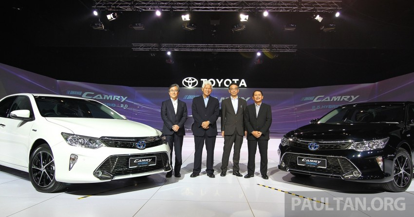 2015 Toyota Camry launched in Malaysia – new 6-spd 2.0E RM150k, 2.0G RM160k, 2.5 Hybrid RM175k Image #324038