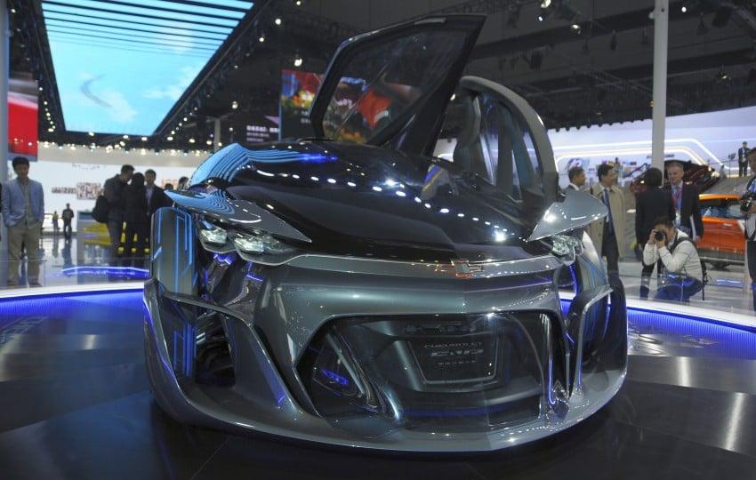 Shanghai 2015: Chevrolet FNR previews a mad future Image #331097