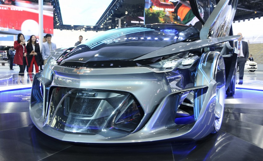 Shanghai 2015: Chevrolet FNR previews a mad future Image #331099