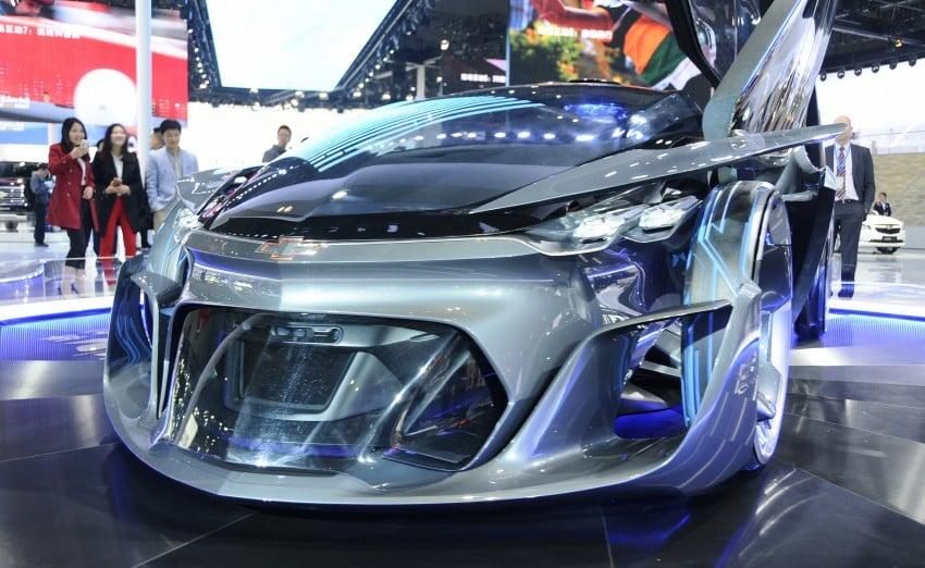 Shanghai 2015: Chevrolet FNR previews a mad future Image #331099