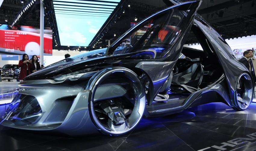Shanghai 2015: Chevrolet FNR previews a mad future Image #331100