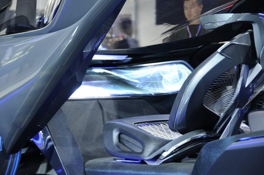 Shanghai 2015: Chevrolet FNR previews a mad future Image #331102