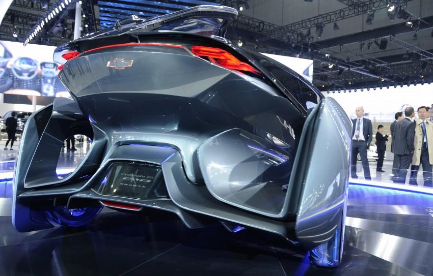 Shanghai 2015: Chevrolet FNR previews a mad future Image #331104