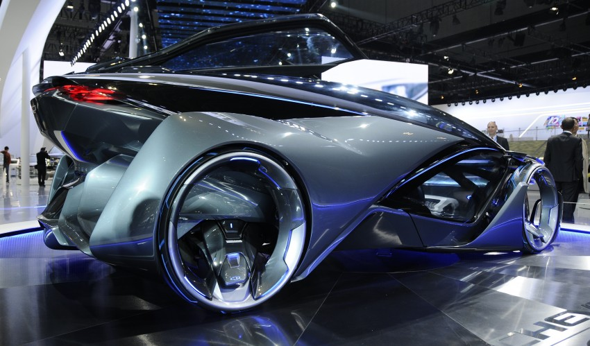 Shanghai 2015: Chevrolet FNR previews a mad future Image #331106