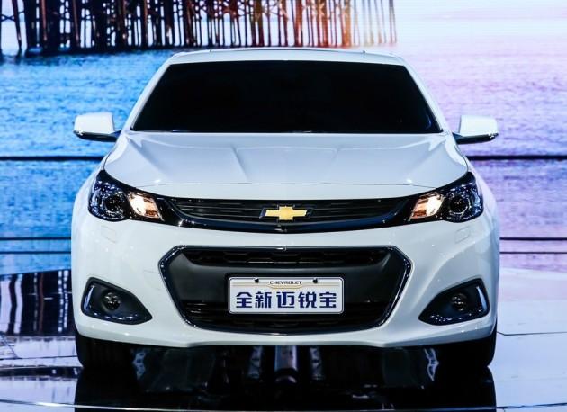 Chevrolet Malibu Facelift China