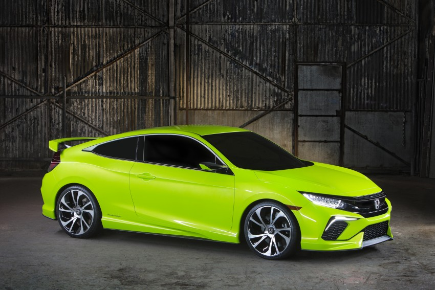 Honda Civic Concept debuts in NYC, previews tenth-gen for ASEAN – Type R hatch confirmed for US Image #323877