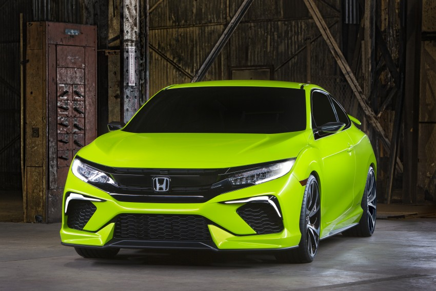 Honda Civic Concept debuts in NYC, previews tenth-gen for ASEAN – Type R hatch confirmed for US Image #323879