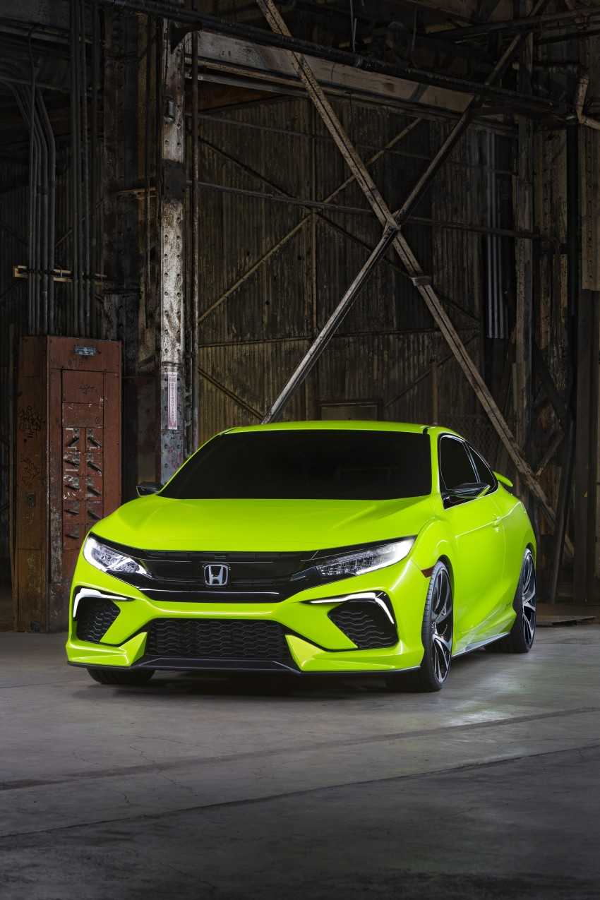 Honda Civic Concept debuts in NYC, previews tenth-gen for ASEAN – Type R hatch confirmed for US Image #323880